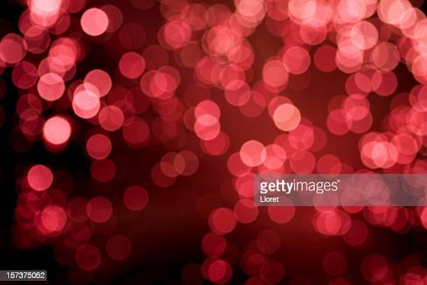De luces de fondo rojo iluminado