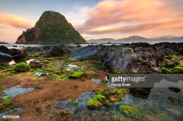 red island - east java province stock photos and pictures