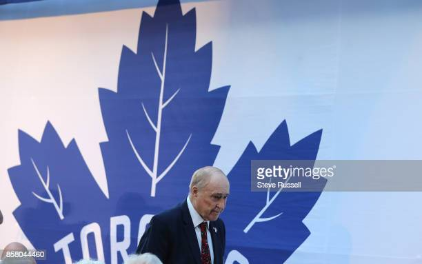 TORONTO ON OCTOBER 5 Red Kelly won four Stanley Cups with the Detroit Red Wings and another four with the Toronto Maple Leafs The Toronto Maple Leafs...
