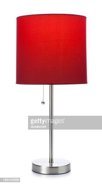 Red Lamp Isolated on white