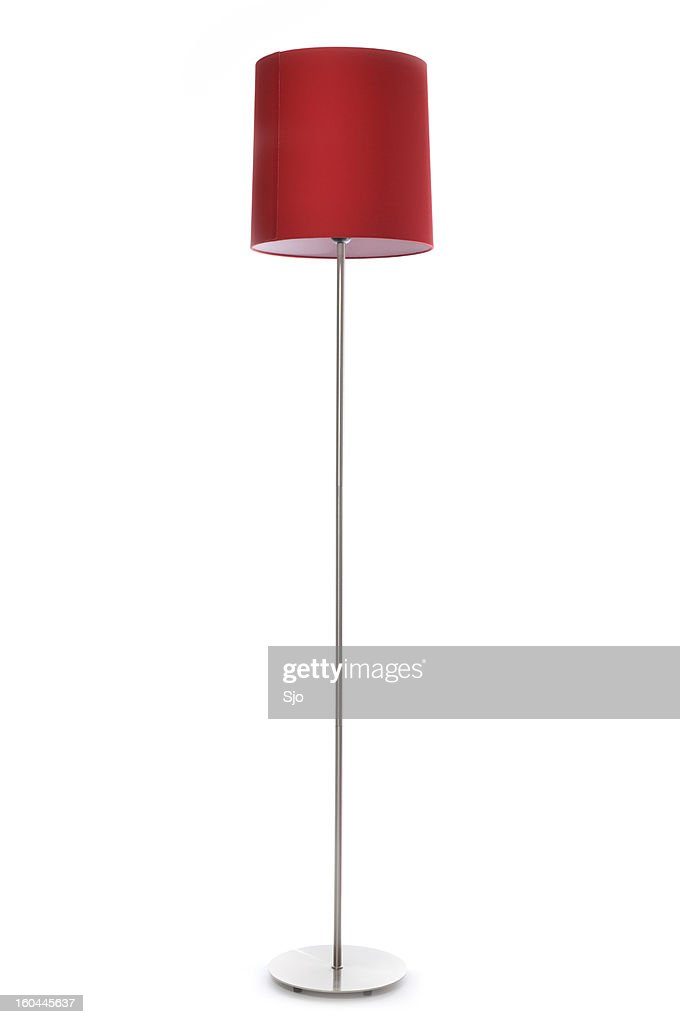 Red lamp : Stock Photo