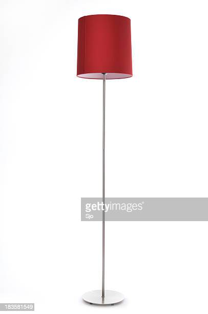 red lamp - lamp stock photos and pictures