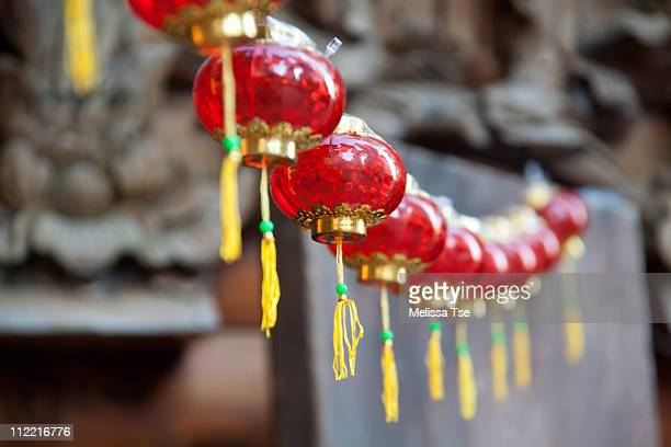 Red lantern decorations for Chinese New Year