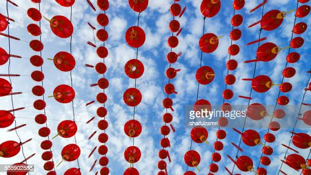 red lantern - shaifulzamri stock pictures, royalty-free photos & images