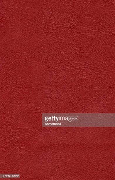 red leather background - leather stock photos and pictures