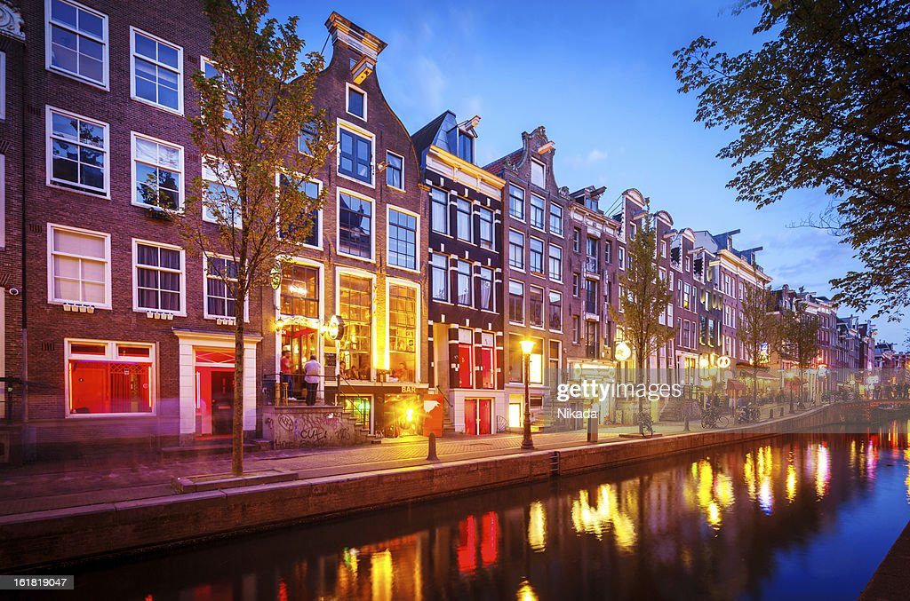 Red Light District, Amsterdam : Stock Photo