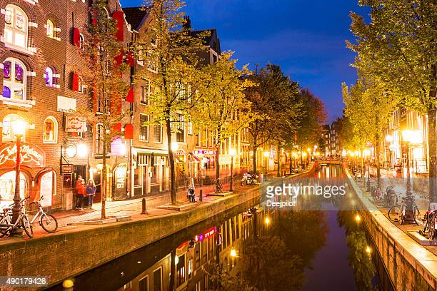 Red Light District of Amsterdam Netherland