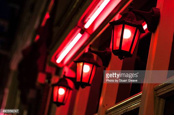 red light district - red light district stock-fotos und bilder