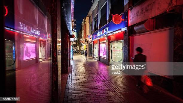 Red Light District, Soho, London