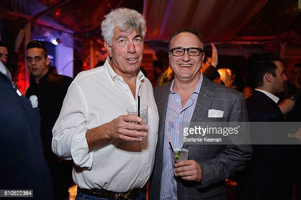 Red Light Management Founder Coran Capshaw and Jason Weinstock attend Red Light Management 2016 Grammy After Party presented by Citi at Mondrian...
