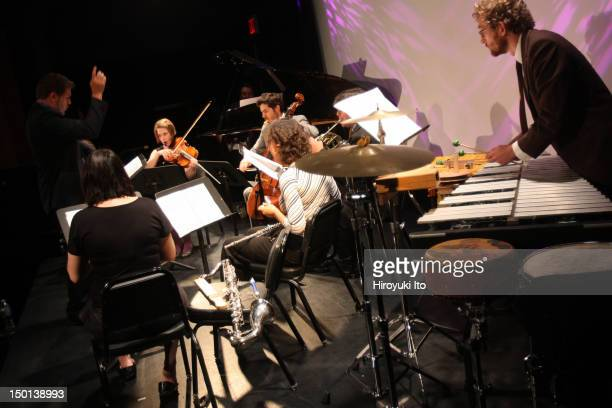 """Red Light New Music presents """"Between Classical and New: Variations on a Theme"""" at Symphony Space's Thalia Theater on Monday night, September 20,..."""