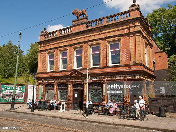 red lion , crich - stoke on trent stock pictures, royalty-free photos & images
