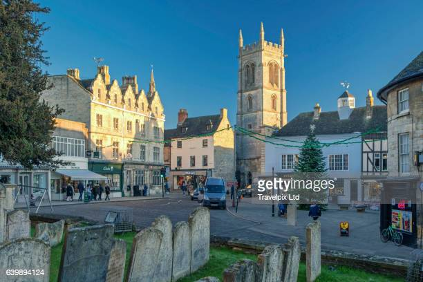 Red Lion Square, Stamford, Lincolnshire, UK