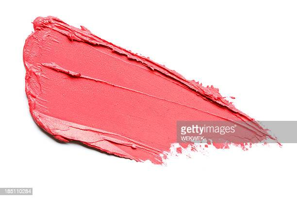 red lipstick smears - smudged stock pictures, royalty-free photos & images