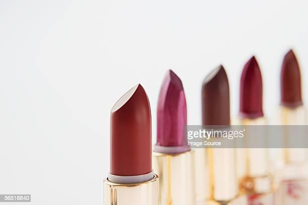 red lipsticks - 尖っている ストックフォトと画像