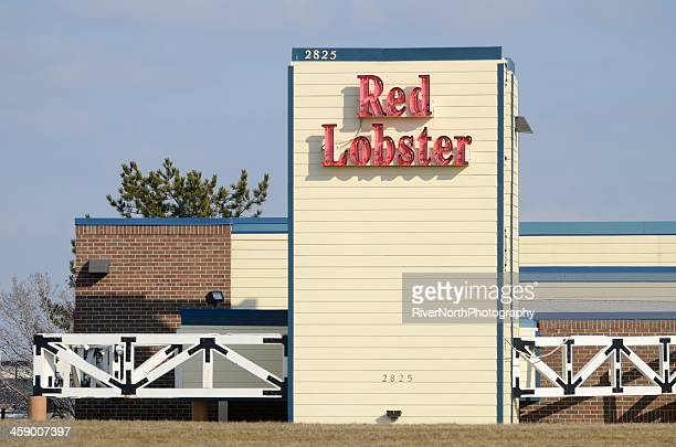 red lobster - red lobster restaurant stock pictures, royalty-free photos & images