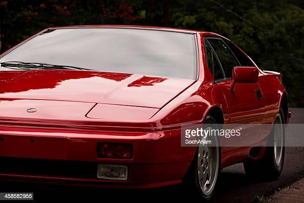 Red Lotus Sports Car
