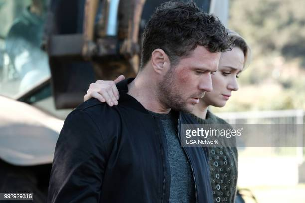 SHOOTER 'Red Meat' Episode 302 Pictured Ryan Phillippe as Bob Lee Swagger Shantel Vansanten as Julie Swagger
