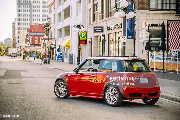 Red Mini Cooper S JCW in Ottawa