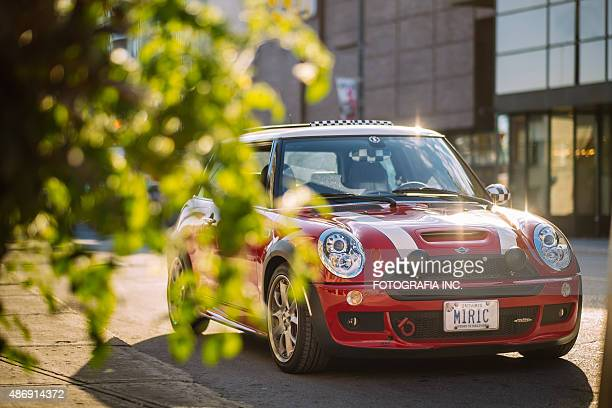 Red Mini Cooper S JCW in Ottawa
