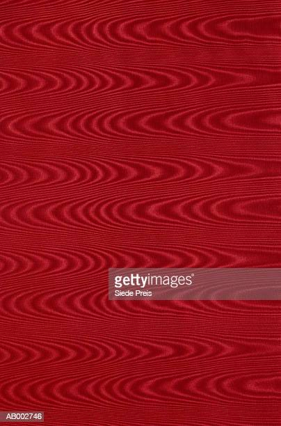 Red Moire Fabric