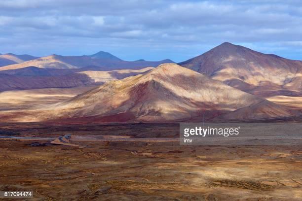 Red Mountain cliffs - Fuerteventura