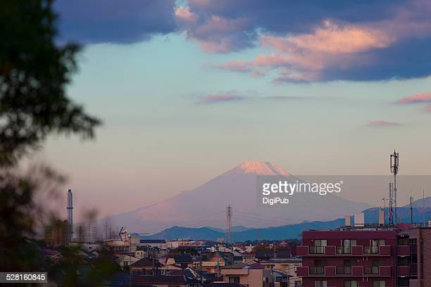 Red Mt. Fuji at Sunrise