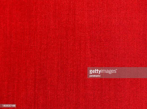 Red Natural Linen