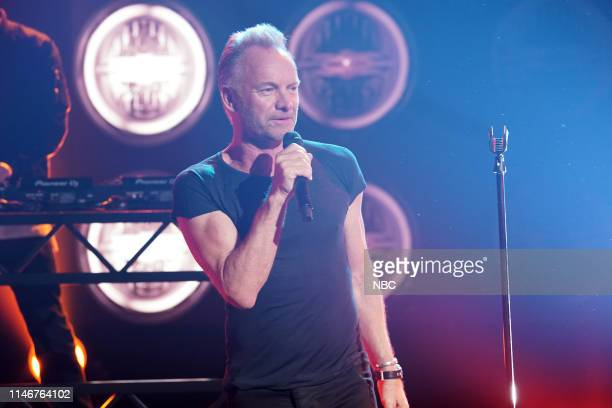 Red Nose Day Concert -- Pictured: Sting --