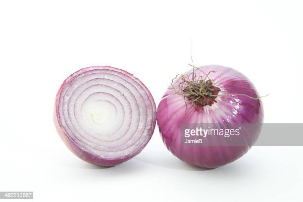 Red Onion cut in half