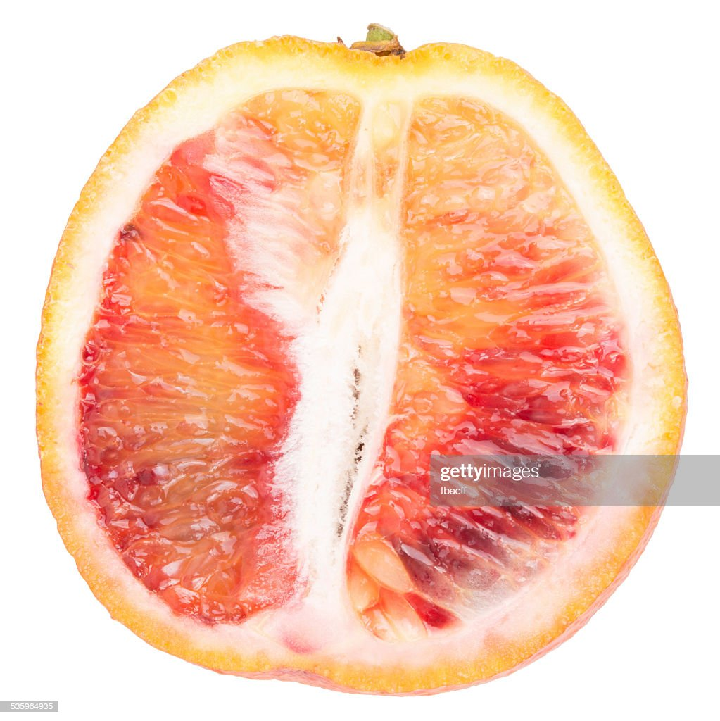 red orange, isolated : Stock Photo