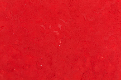 Red paint put on a white paper - gettyimageskorea
