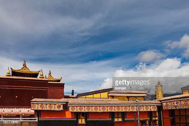Red Paläste der Potala-Palast, Lahsa, Tibet, China