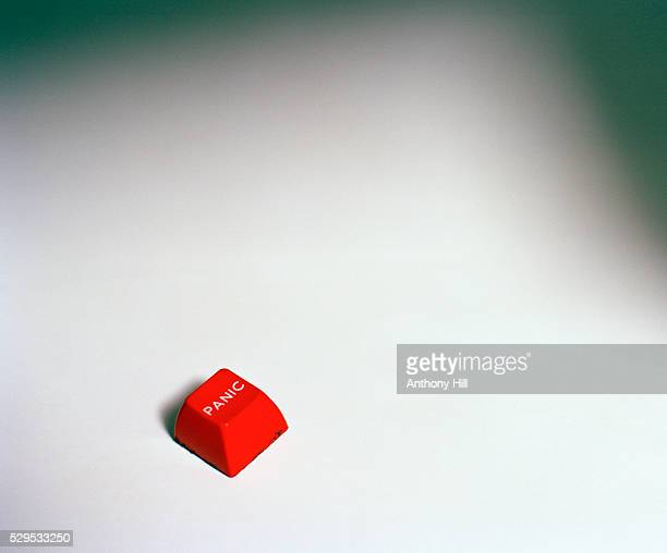 a red panic button - depression sadness stock pictures, royalty-free photos & images