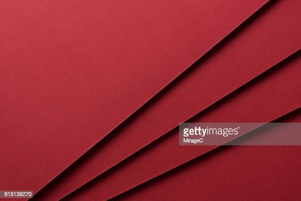 Red Paper Stacking