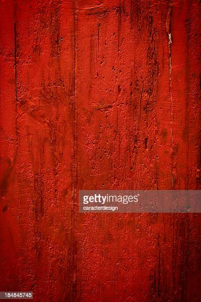Red peeling background