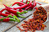 Red Pepper Flakes and red Chili
