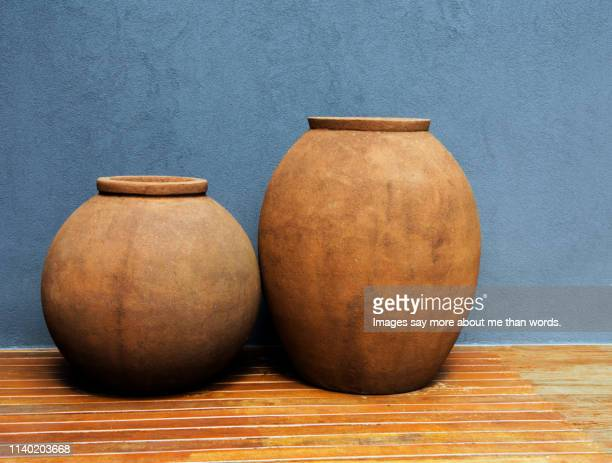 red pepper vase - terracotta stock pictures, royalty-free photos & images