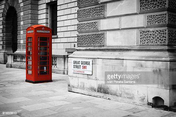Red Phone booth at London