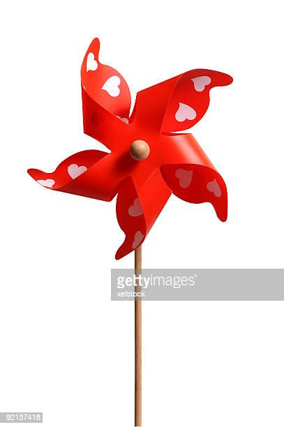 red pinwheel - mill stock pictures, royalty-free photos & images