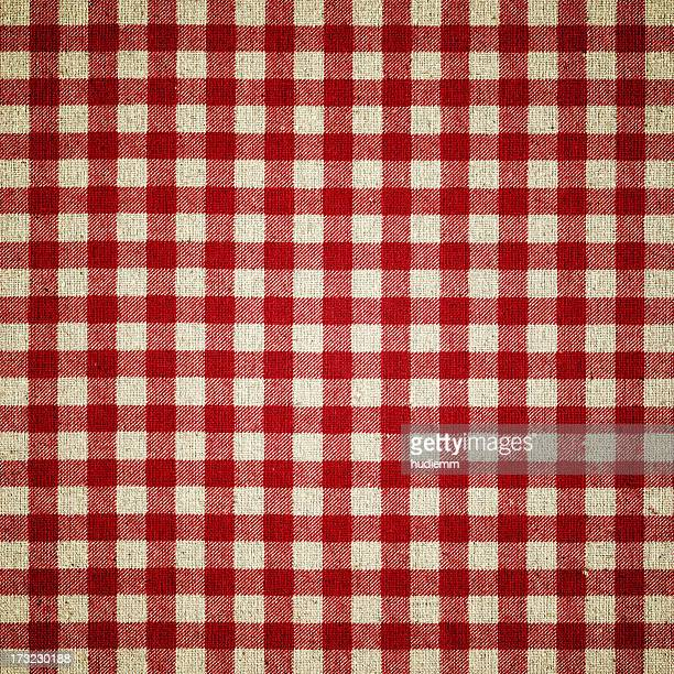 red plaid fabric - country christmas stock pictures, royalty-free photos & images