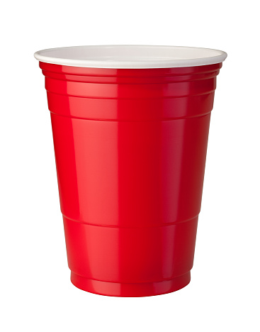 Red Plastic Cup (clipping path) 97907999