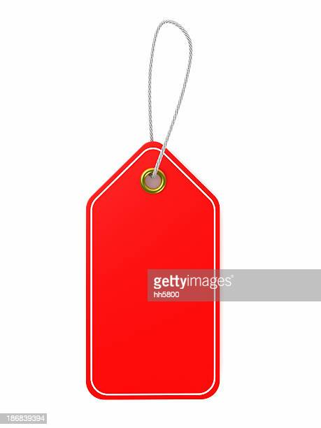 red price tag - price tag stock pictures, royalty-free photos & images
