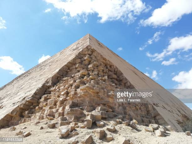 Red Pyramid detail. Dahshur