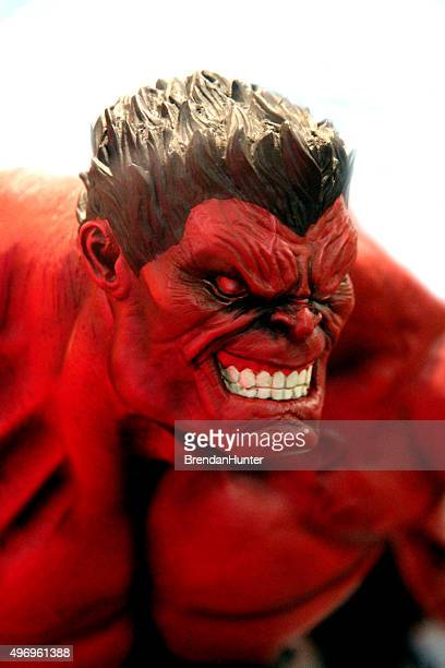 red rage - incredible hulk stock photos and pictures