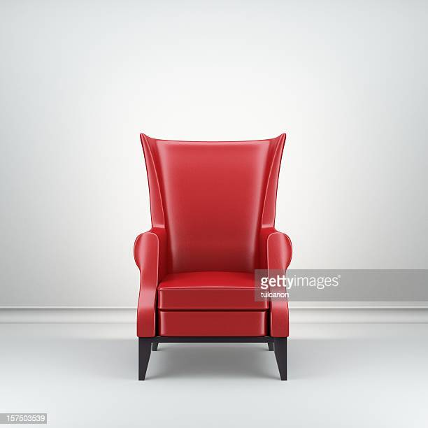 Red Retro Armchair