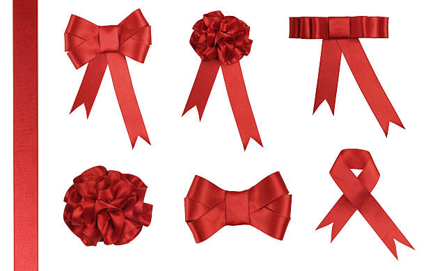Free red ribbon images pictures and royalty free stock photos red ribbon gift added clipping path negle Choice Image