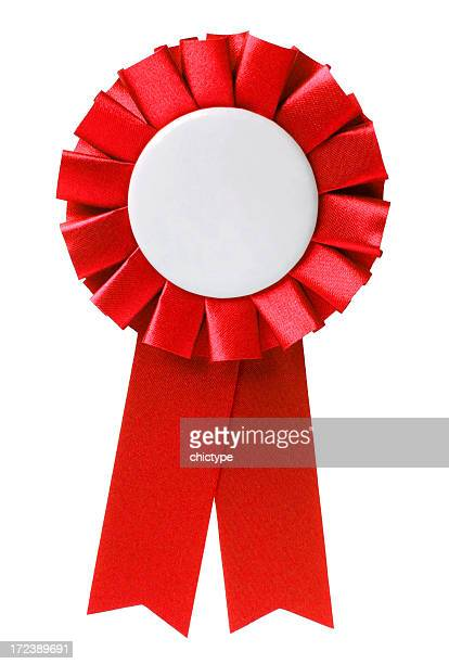 red ribbon - blue ribbon stock photos and pictures