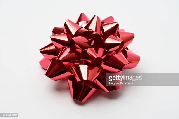 Red ribbon rosette
