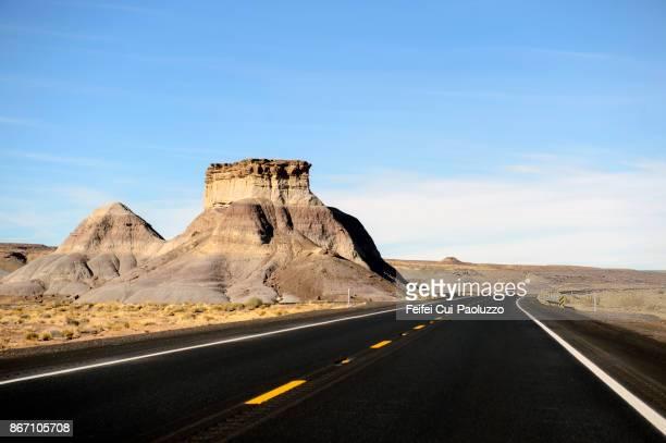 Red rock near Blue Gap, Arizona, USA